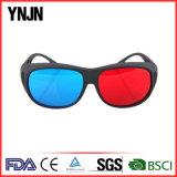 Ynjnの卸し売りバルクよい価格の赤い青3Dガラス(YJ-3D001)