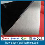 Lamina di metallo spazzolata dell'acciaio inossidabile di 304 10 GA