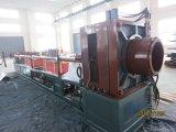 Machine ondulée de pipe en acier d'acier inoxydable