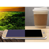 Película azul do telefone de tela do vidro Tempered da raia da tampa cheia anti para o protetor do móbil da borda de Samsung S7