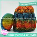 Chapéus fio Kits desconto lã penteada Cashmere Knitting Yarn