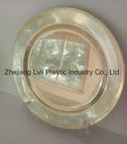 Пластичная плита, устранимая, Tableware, поднос, тарелка, PS, золотистая плита, PA-01