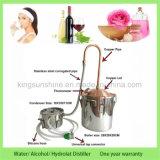 必要な芳香オイルの蒸留器の密造酒のまだ精神のためのKingsunshineの新しい10L/3gal銅のAlembic