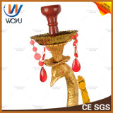 De Vaas van het Glas van de Waterpijp van Shisha van de Sigaret van de Waterpijp van de Diamant van de hars
