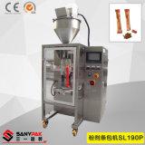 液体か粉または微粒の機械を作る狭い袋または磨き粉の棒