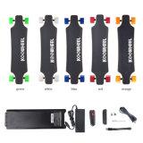 Planche à roulettes amplifiée par planche à roulettes électrique sèche à quatre roues de mode de qualité