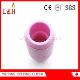 ugello di ceramica dell'allumina 10n55 per il cannello per saldare di TIG