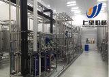 Terminar a linha de produção do pó de leite