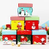 Vakje van de Verpakking van de Gift van het Document van Kerstmis van het Ontwerp van de Douane van de Druk van Cmyk het Nieuwe