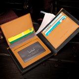 Бумажник брата кожаный и бумажник ретро оптовых ввозов корейца мыжской кожаный