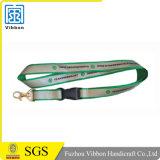 2.017 tejido manera la cuerda de seguridad con el logotipo personalizado