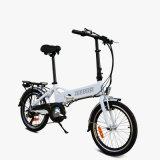 Aleación de aluminio  E-Bici plegable con la batería ocultada