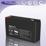 Batterie rechargeable 6V3.2ah, pour éclairage de secours, éclairage extérieur, lampe solaire pour jardin