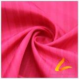 agua de 50d 290t y de la ropa de deportes tela tejida chaqueta al aire libre Viento-Resistente 100% de la pongis del poliester del telar jacquar de la tela escocesa abajo (53238A)
