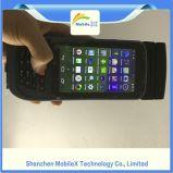 De handbediende Collector van Gegevens Androïde PDA met 4G, WiFi, Camera, de Scanner van de Streepjescode, Vingerafdruk, RFID Lezer, Printer