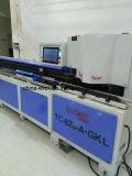 Graus automático do frame de alumínio os 45 duplos consideraram a máquina de estaca (TC-828AKL)