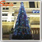 Albero di Natale artificiale del PVC di vendita calda per la decorazione del mercato