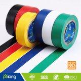 黄色い接着剤PVCワイヤーの包むことのための電気絶縁体テープ