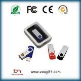 Metallclip USB-Blitz-Laufwerk des Twister-8GB