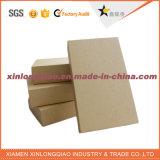 Caixa feita sob encomenda do papel de embalagem de Brown do tamanho