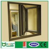 Australiano estándar As2047 de aluminio con doble acristalamiento enmarcado ventana plegable (pnocbfw00156)