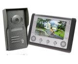 Die 4 Draht-geben videotür-Telefon-Wechselsprechanlage-Türklingel-Hand Sicherheitssystem frei