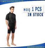 Wetsuit durable del equipo de salto de la funda del cortocircuito de la aptitud del neopreno del hombre