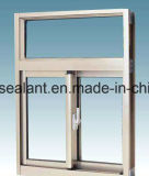 Ventana de aluminio modificada para requisitos particulares del marco del vidrio Tempered del color
