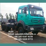 판매를 위한 북쪽 벤츠 Beiben 6X4 380HP 트레일러 헤드 트랙터 트럭