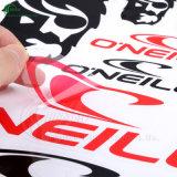 Transparente Aufkleber des kundenspezifisches Drucken-selbstklebende VinylPVC/Paper (KG-PT003)