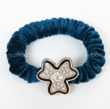 Buntes Gewebe-elastisches Haar-Band für Mädchen