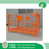 Faltender Stahllogistik-Rahmen für Lager durch Forkfit