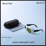 ダイオードおよびNDのためのO.D5+ @ 740-1100nm /Laserの保護ゴーグル: Frame36のYAGのレーザー