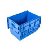 No. 6 gabbie di plastica ampiamente usate con il contenitore multifunzionale di plastica dell'aletta del ferro