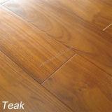 Plancher en bois conçu par teck en bois de la Birmanie de plancher de bois dur de teck de plancher
