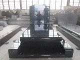 De Chinese Fabriek van de Grafsteen van het Graniet van de Grafzerk van het Graniet van de Plak van het Graniet Grote