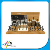 Acrylique Mode Montre en bois en cuir affichage avec le meilleur prix