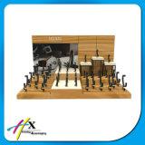 Equipamento de indicador de madeira luxuoso personalizado do relógio