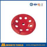 PCD 다이아몬드 컵 바퀴