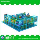 Cour de jeu d'intérieur de matériel vilain de château de jeu d'enfants