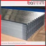 Placa de azotea/hoja de acero galvanizadas del material para techos