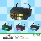 党照明(ICON-A043D)のための新しいRGBW LEDダービーの効果ライト