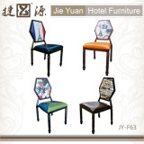 Metallstapelbare Gaststätte-Möbel, die Stuhl (JY-F63, speisen)