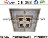 중국 싼 가격 595*595mm 경량 건축재료 PVC 천장 벽면 PVC 천장 도와