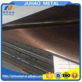 304 feuille d'acier inoxydable de décoration d'ascenseur de surface de Ba du délié 2b