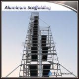 高品質のアルミニウム移動式足場タワー