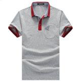2017 camisas de polo dos homens vendem por atacado camisas de polo do algodão da forma