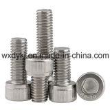 中国ISO4762からのステンレス鋼のソケットの帽子ねじチーズヘッド六角形の締める物の工場