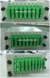 Divisor del PLC de la telecomunicación 1X16 Lgx de Gpon para Pon/FTTH/CATV