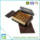 Коробка шоколада пластичной вставки 2 частей роскошная